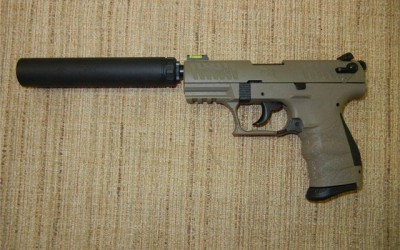 NFA Walther P22 Tactical w/ AAC Element 2 SOLD