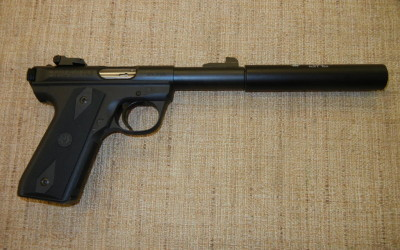 NFA Ruger 22/45 4.5″ W/ AAC Pilot 2 SOLD