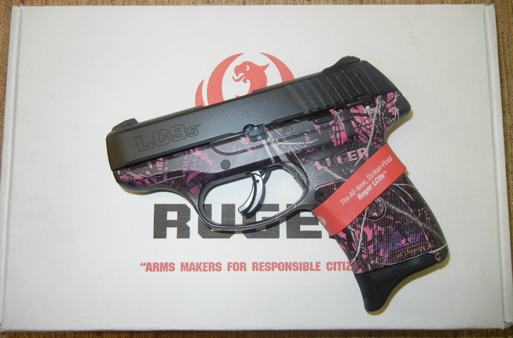 Ruger Lc9s 9mm Pink Muddy 03243 New Arvada 3243