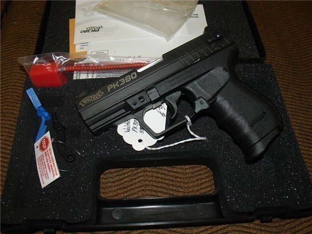 Walther PK380 .380 ACP Blk 505.03.08 NEW Arvada CO