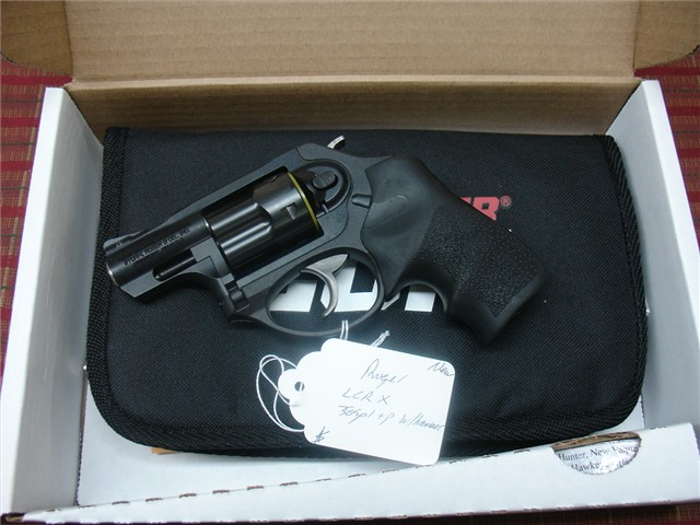 Ruger LCRx .38 SPL +P revolver 05430 NEW Arvada CO