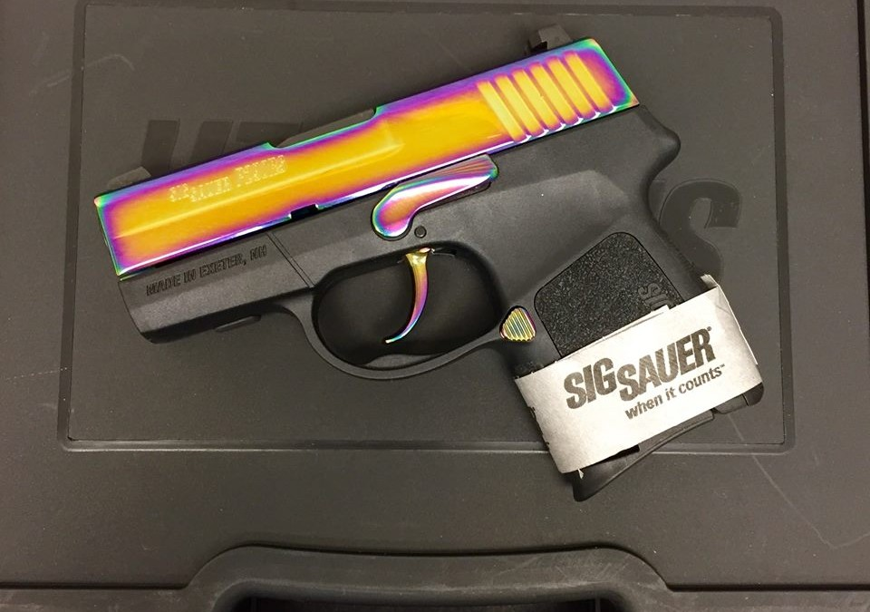 Sig P290 RS 9mm Rainbow 290rs-9-rb NEW Arvada CO