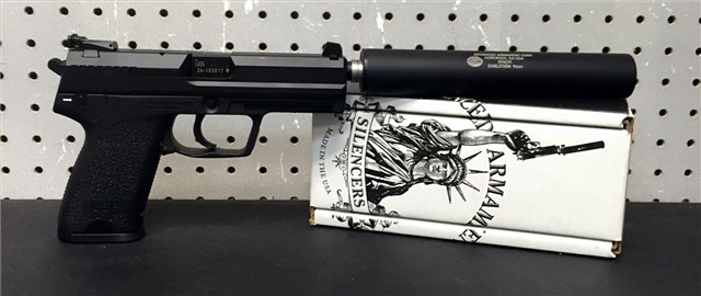 NFA H&K USP-T SD 4.7″ W/ AAC Evolution $1779.99*