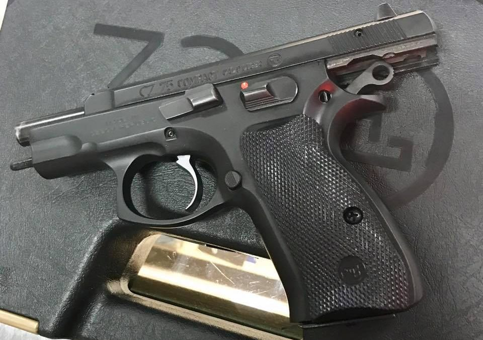 CZ 75 Compact w/ Safety 9mm SOLD
