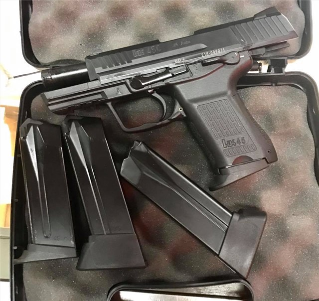 HK HK45 Compact w/ (4) mags Arvada CO SOLD