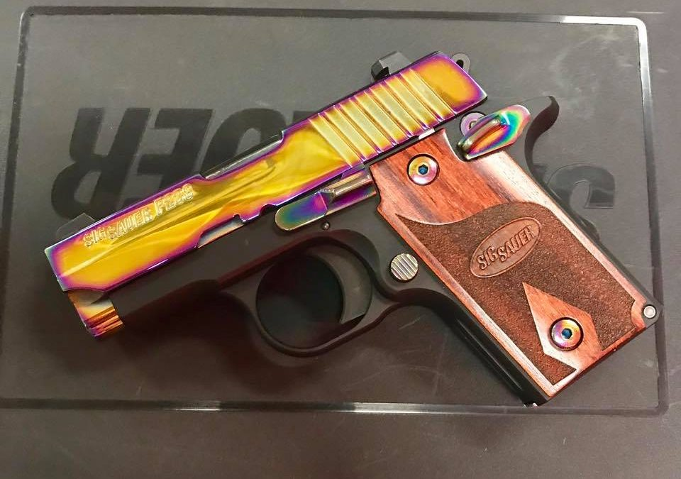 Sig P238 Rainbow .380 ACP Excellent Arvada CO $549.99*